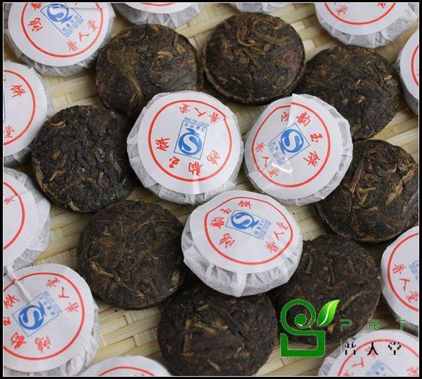 普人堂2011年鸿韵玉饼早春老树滇红茶